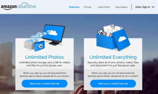 Amazon - Cloud-Drive -Technolife