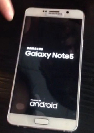 Boot Screen Of note 5