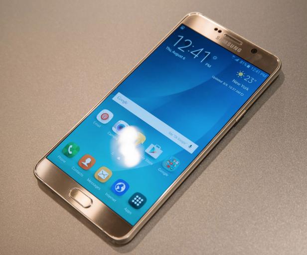 Samsung_Note 5_Gold