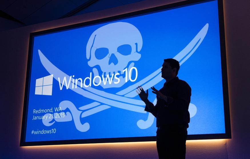 is it safe to pirate games on windows 10